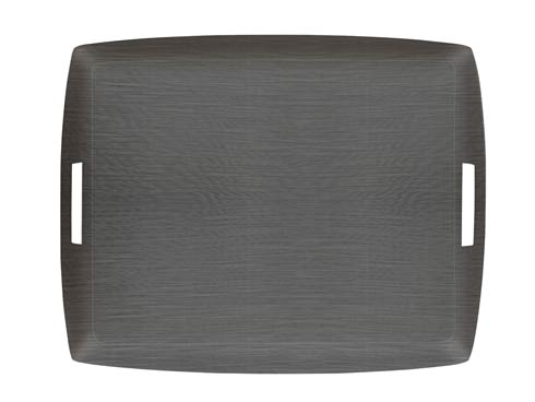 $189.00 Large Rect. Tray, Pewter