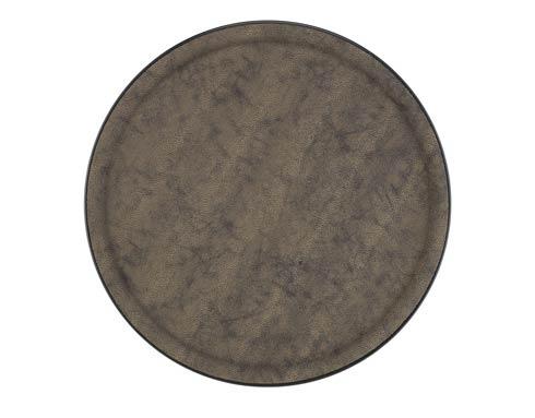 $59.00 Medium Round Tray, Brown