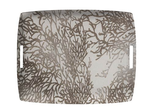 $189.00 Large Rect. Tray, Gray