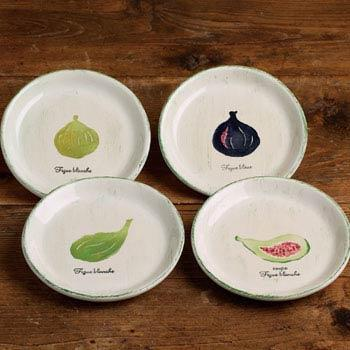 Casafina  Plate Sets Set Of 4 Canapé Plates $35.25