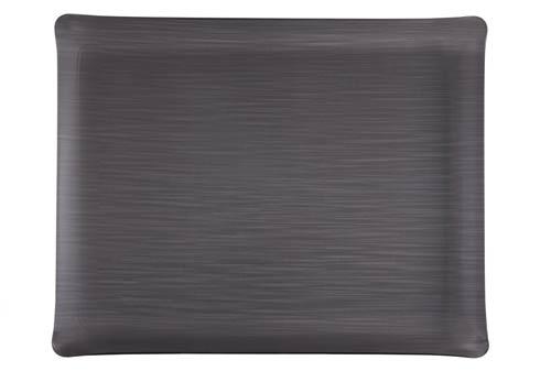 $159.00 Medium Rect. Tray, Dark Gray