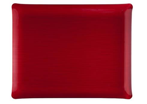 $159.00 Medium Rect. Tray, Red