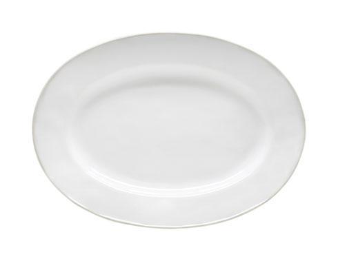 "Costa Nova  Beja - White-Cream Oval Platter 12"" $50.50"