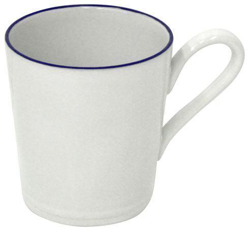 Costa Nova  Beja - White-Blue Mug 12 oz. $18.50