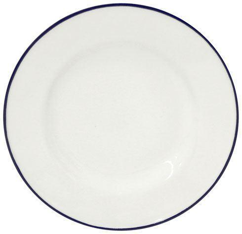 "Costa Nova  Beja - White-Blue Bread Plate 6"" $15.00"