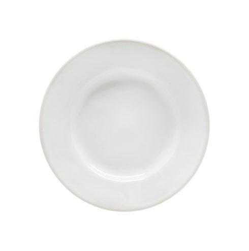 "Costa Nova  Beja - White-Cream Bread Plate 6"" $15.00"