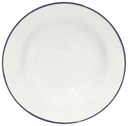 """Costa Nova  Beja - White-Blue Soup/Pasta Plate 8"""" $28.50"""