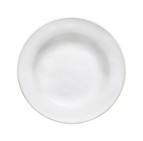 """Costa Nova  Beja - White-Cream Soup/Pasta Plate 8"""" $28.50"""