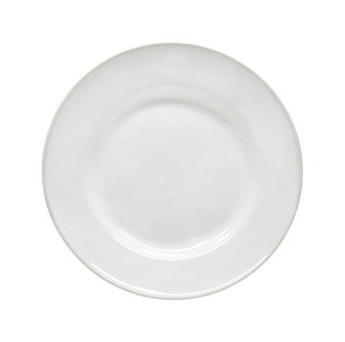 "Costa Nova  Beja - White-Cream Salad/Dessert Plate 9"" $25.00"