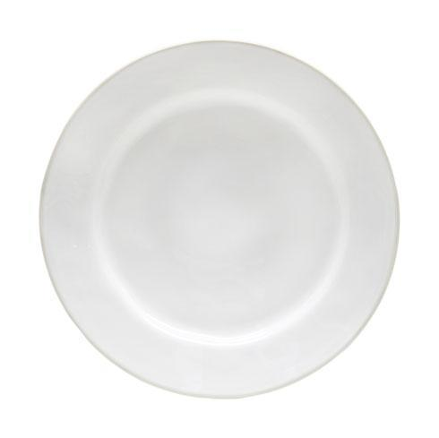 Costa Nova  Astoria - White Dinner Plate $27.50