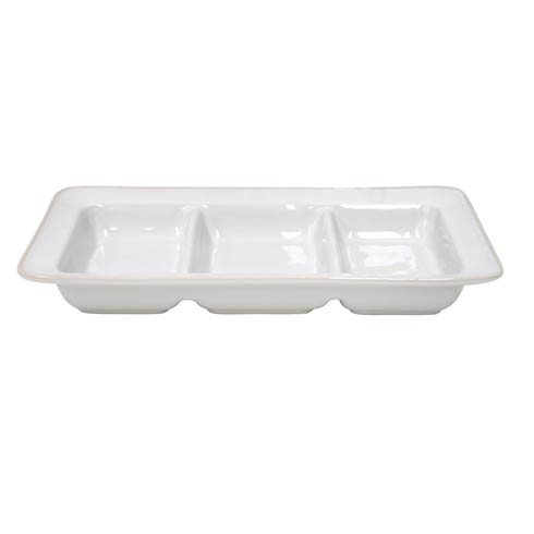 Costa Nova  Astoria - White Triple Tray $49.00