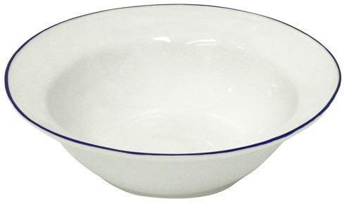 "Costa Nova  Beja - White-Blue Serving Bowl 12"" $50.50"