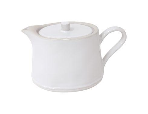 Costa Nova  Astoria - White 33.8 Oz Tea Pot $66.00