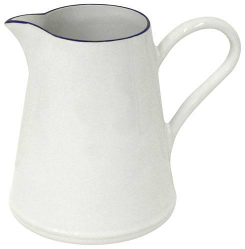 Costa Nova  Beja - White-Blue Pitcher 74 oz. $69.00