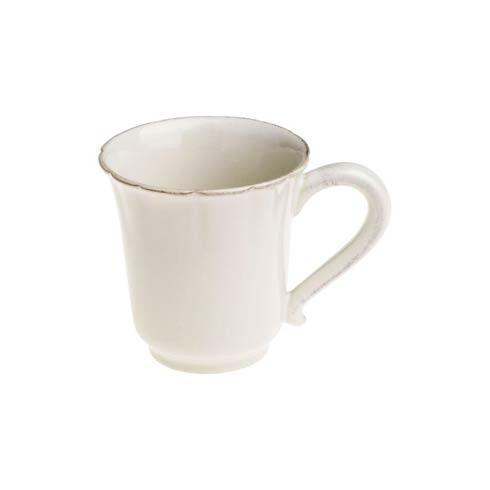 Casafina  Bistro - White Coffee Mug $13.00