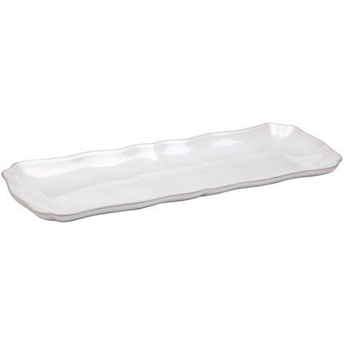 Casafina  Bistro - White Rectangular Tray $42.00