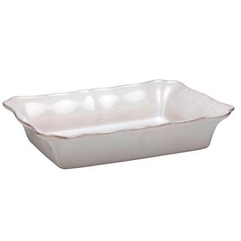 Casafina  Bistro - White Large Rectangular Baker $49.50