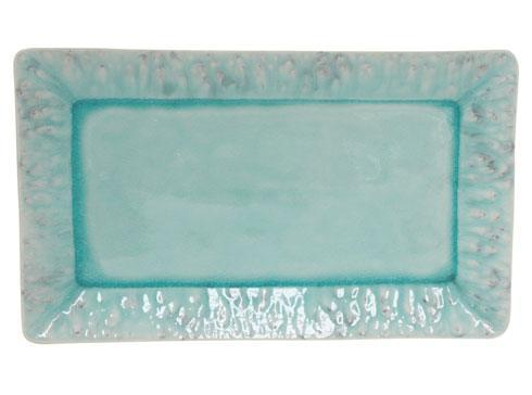 "Costa Nova  Madeira - Blue 15.75"" Rectangular Tray $77.00"