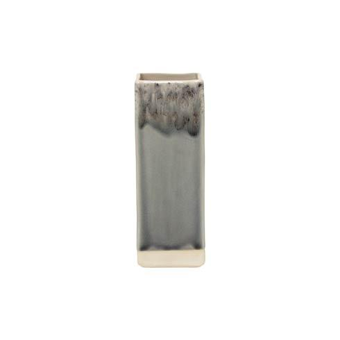 Costa Nova  Madeira - Grey Grey Square Vase (1) $55.00