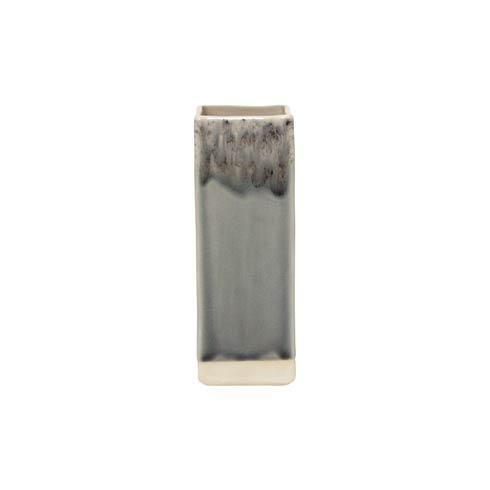 "Costa Nova  Madeira - Grey Rect. Vase 8"" $57.50"