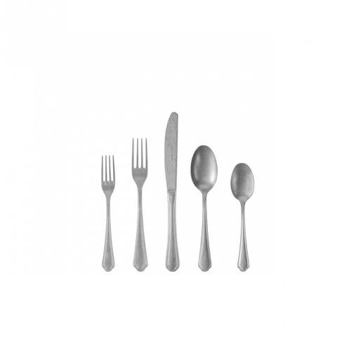 $42.00 Flatware 5 Pc Set  W/O Box