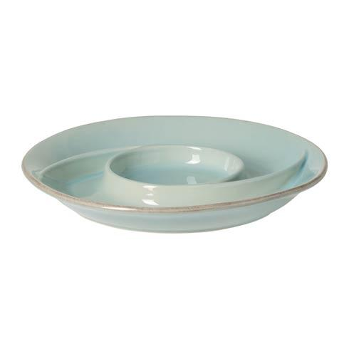 Casafina  Cook & Host - Robin's Egg Blue Chip & Dip $35.00