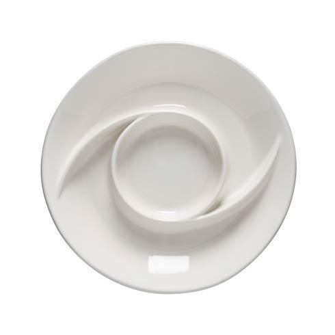 "Casafina  Cook & Host - White Chip and Dip 13"" $37.00"