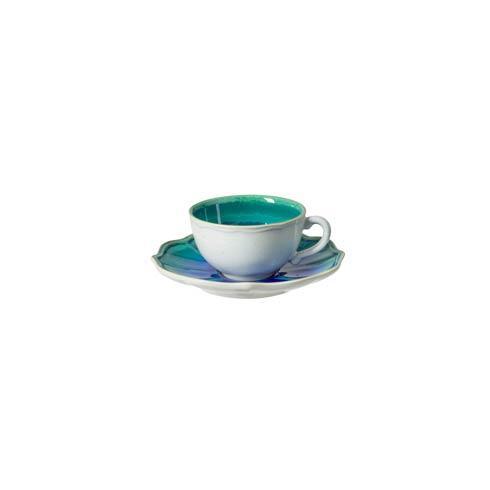 $34.50 Tea Cup and Saucer 7 oz.