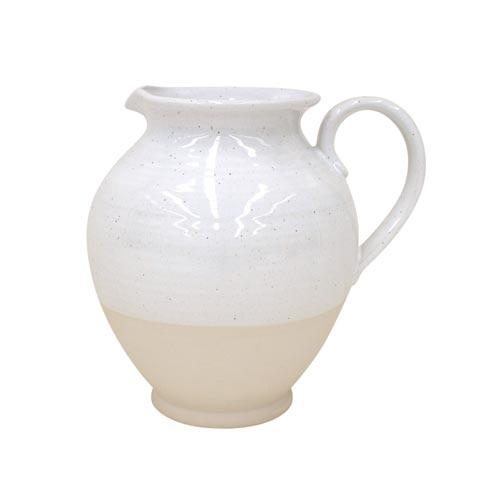 Casafina  Fattoria - White Large Pitcher $77.00