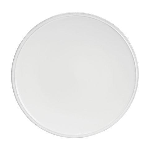Costa Nova  Friso - White Dinner Plate $21.50