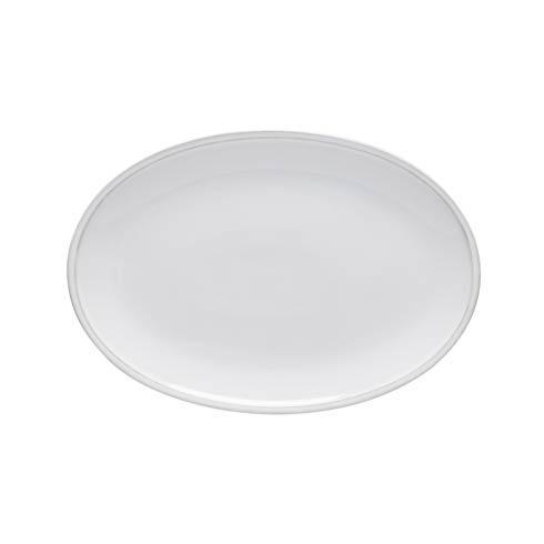 """Costa Nova  Friso - White Steak Plate 13"""" $30.00"""
