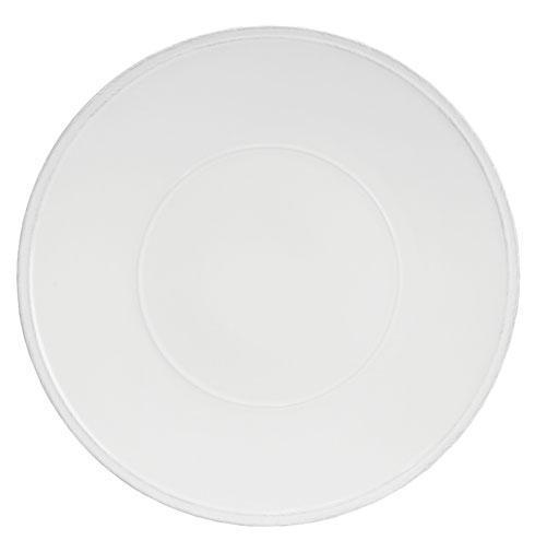 """Costa Nova  Friso - White Charger Plate/Platter 14"""" $51.50"""