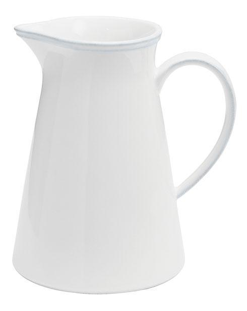 Costa Nova  Friso - White Pitcher 56 oz. $65.00