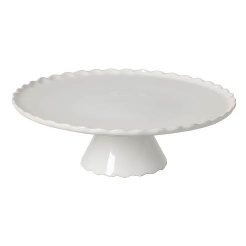 """Casafina  Forma - White Footed Plate 14"""" $93.50"""