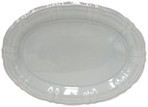 Costa Nova  Village - Grey & Brown Oval Platter $64.00