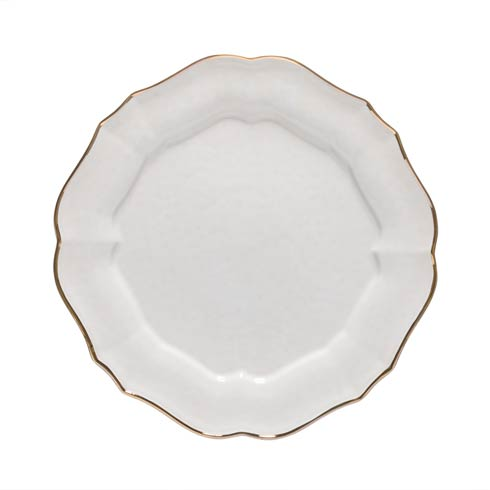 Casafina  Impressions - White & Gold Charger Plate/Platter $69.00