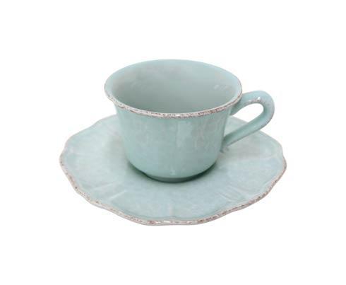 $27.50 Tea Cup and Saucer 8 oz.