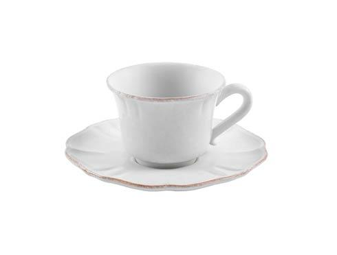 Casafina  Impressions - White Tea Cup and Saucer 8 oz. $27.50