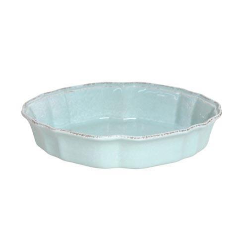 """Casafina  Impressions - Robin\'s Egg Blue Oval Baker 10"""" $42.00"""