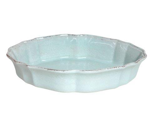 """Casafina  Impressions - Robin\'s Egg Blue Oval Baker 14"""" $60.00"""