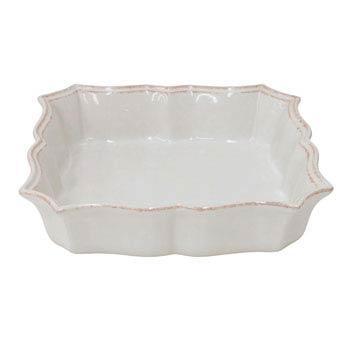 Casafina  Impressions - White Square Baker $44.00