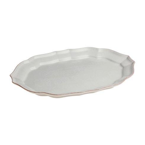 Casafina  Impressions - White Medium Oval Platter $51.50