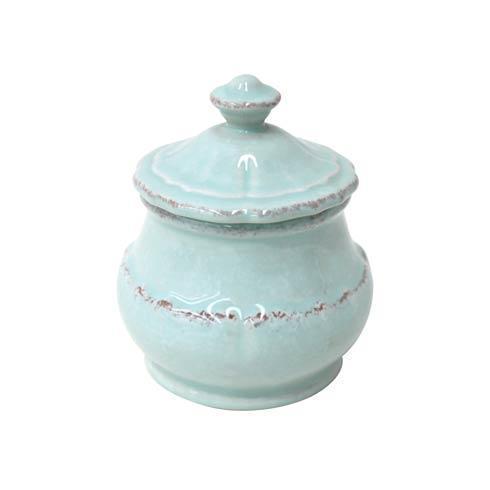Casafina  Impressions - Robin\'s Egg Blue Sugar Bowl $31.00