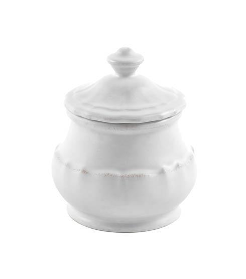 Casafina  Impressions - White Sugar Bowl 11 oz. $32.50