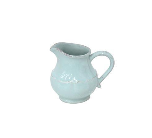 Casafina  Impressions - Robin\'s Egg Blue Creamer 13 oz. $30.00