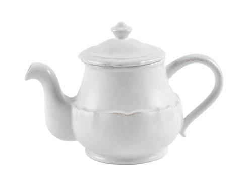 Casafina  Impressions - White Tea Pot 44 oz. $62.00