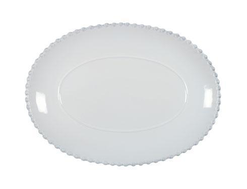 "Costa Nova  Pearl - White 13"" Oval Platter $51.00"