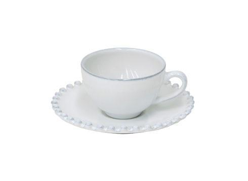 Costa Nova  Pearl Coffee Cup and Saucer 3 oz. $31.00