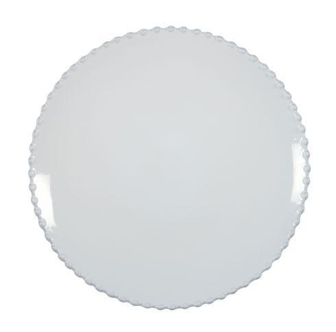 Costa Nova  Pearl - White Dinner Plate $27.50