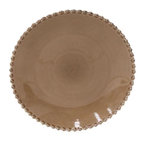 Costa Nova  Pearl - Cocoa Dinner Plate $26.50